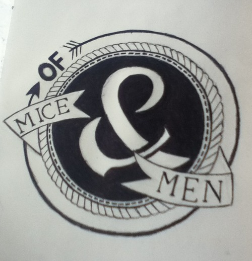 Of Mice and Men logo by kingforaday98