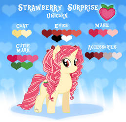 Strawberry Surprise Reference Sheet [Gift]