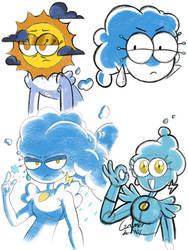 sunshine doodle by gamerbot101