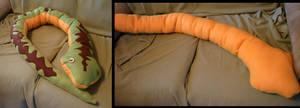 Snake Plushie Pillow