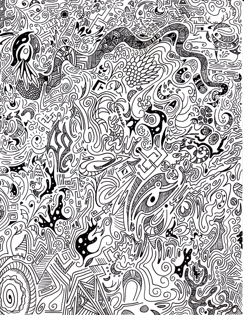 8x11 full page doodle a thon by dragontrap on deviantart