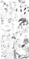 Sketchdump of randomness