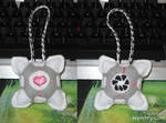 Companion Cube Ornament