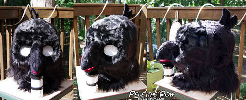 Pele the Row Kemono Head