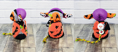 Imp #456 - Pumpkins All the Way Implet by Dragontrap