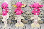 Imp #481 -Pink ZigZag MerImpling