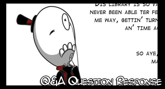 Between chapter Q and A: Question #4
