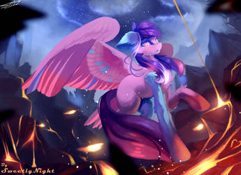 Fast Colors (Commission) Miracle of colors by SweetlyNight