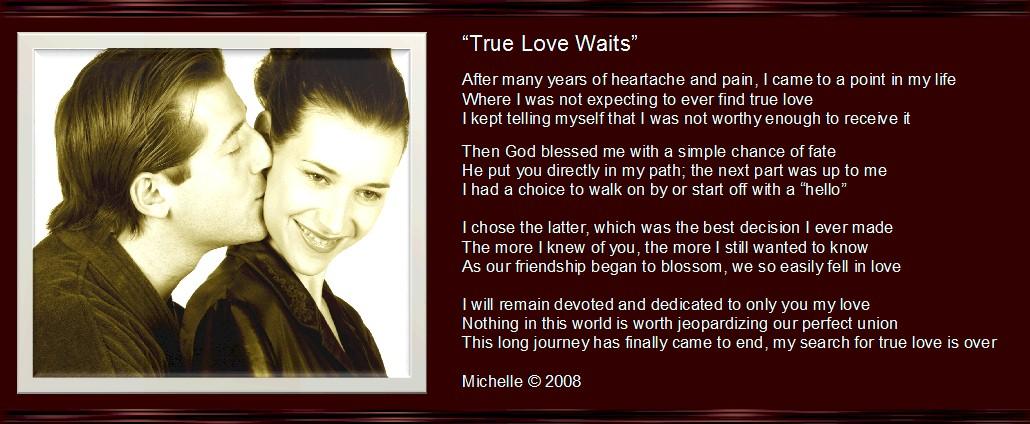 true love waits essays