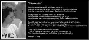 Promises by VisualPoetress