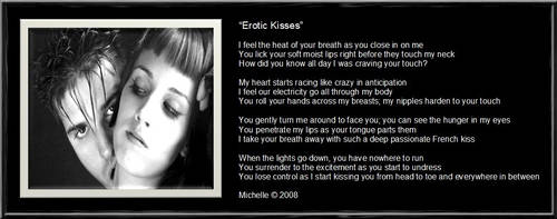Erotic Kisses by VisualPoetress