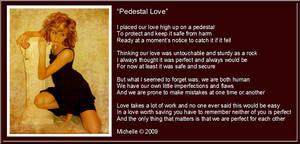 Pedestal Love by VisualPoetress