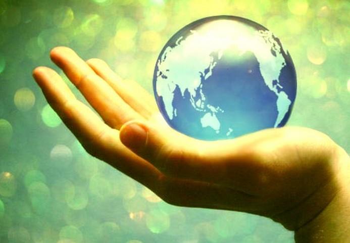 Whole World In His Hands by VisualPoetress