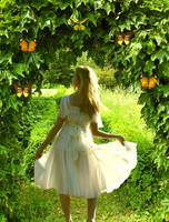 A Walk In The Garden by VisualPoetress