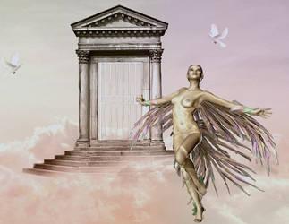At Heaven's Door by VisualPoetress