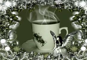 Teatime Fairie by VisualPoetress