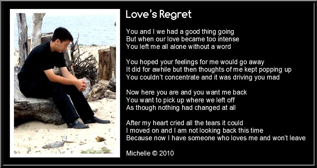 Love's Regret