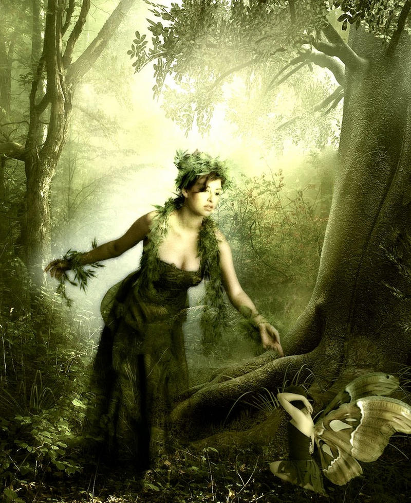 Forest Queen by VisualPoetress