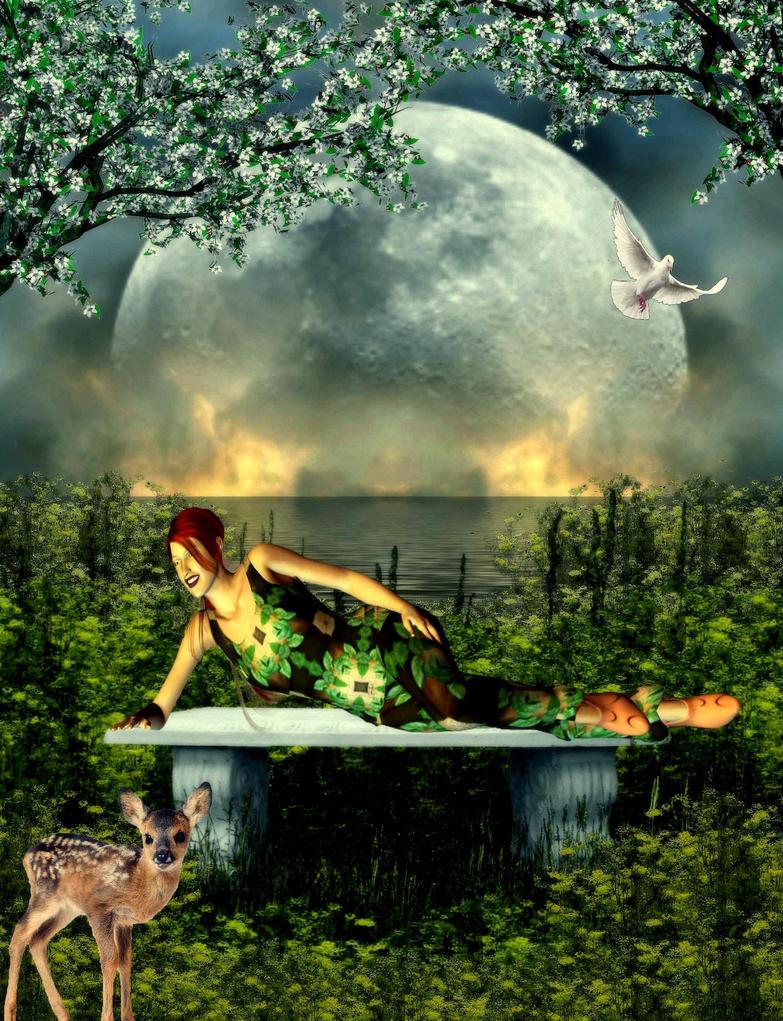 Eden's Garden by VisualPoetress