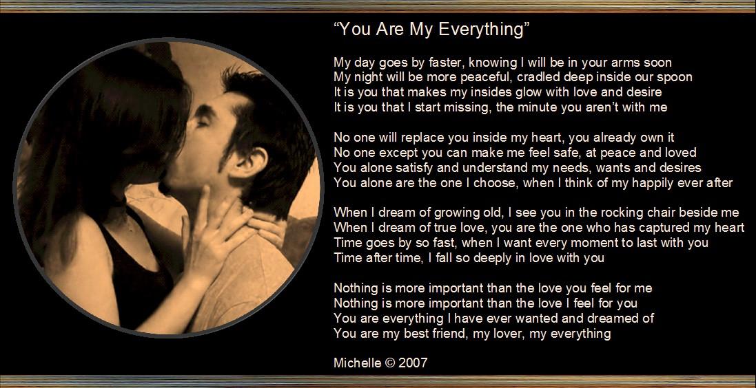 Ur my everything poems