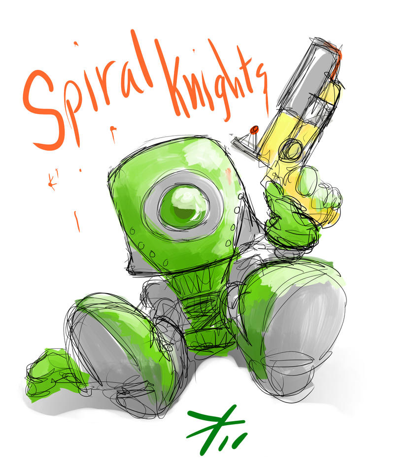 Fan Art of Spiral Knights by KindCoffee