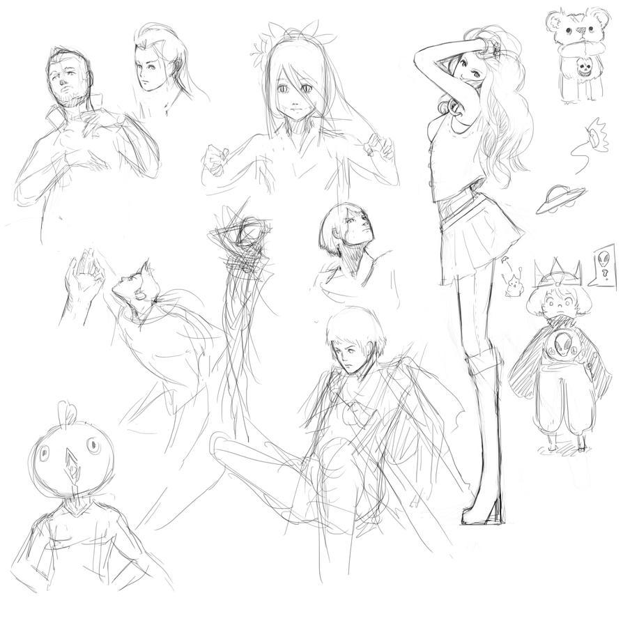 poop face doodle update by KindCoffee