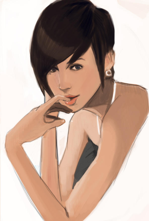 Practice Female 3 by KindCoffee