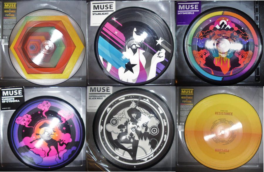 Muse Picture Vinyl by EpicOverload