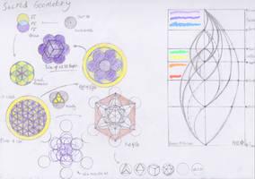 Sacred Geometry, Vesica -Fruit by EpicOverload