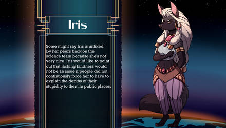 State of Flux - Meet Iris by volkenfox