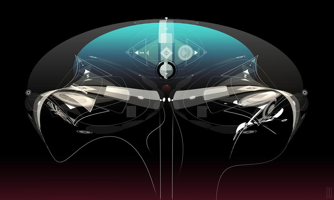 Alien Technology Concept Art By GolpeArt On DeviantArt