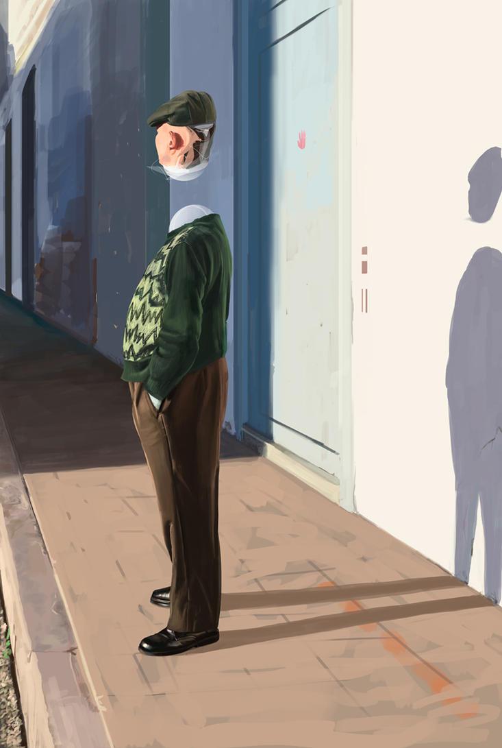 Mr Gutierrez by GolpeArt
