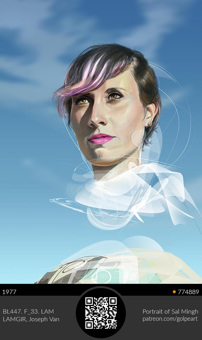 Sal Mingh Portrait by GolpeArt
