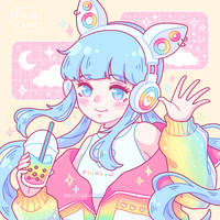 Rainbow Boba