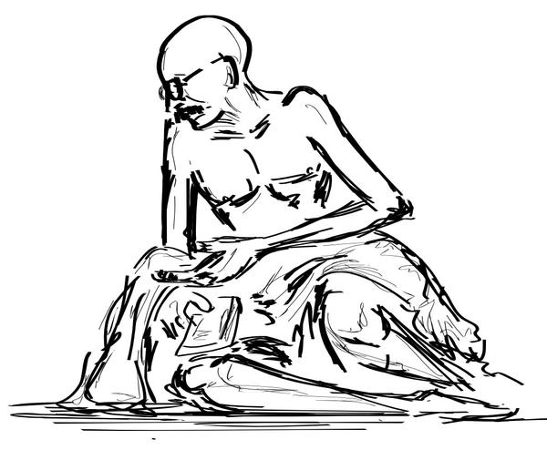 Gandhi by artsrajesh