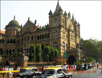 Mumbai CST by artsrajesh