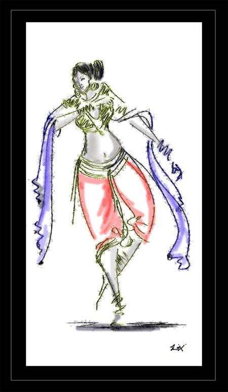 stroke_dance by artsrajesh