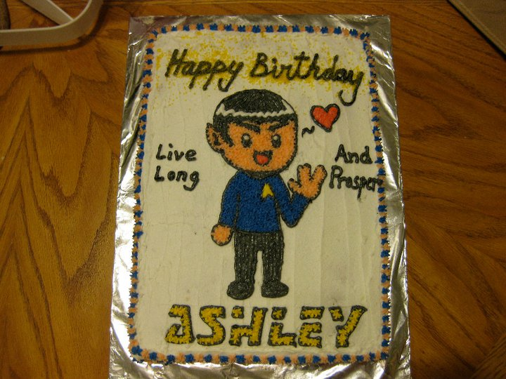 Spock Cake by risu-san