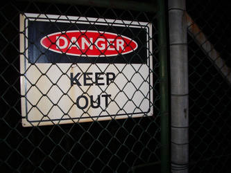 Keep Out by cat-man-info