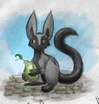 Mikuri: Colored Sketch