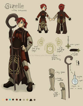Reference Sheet: The Sorceress