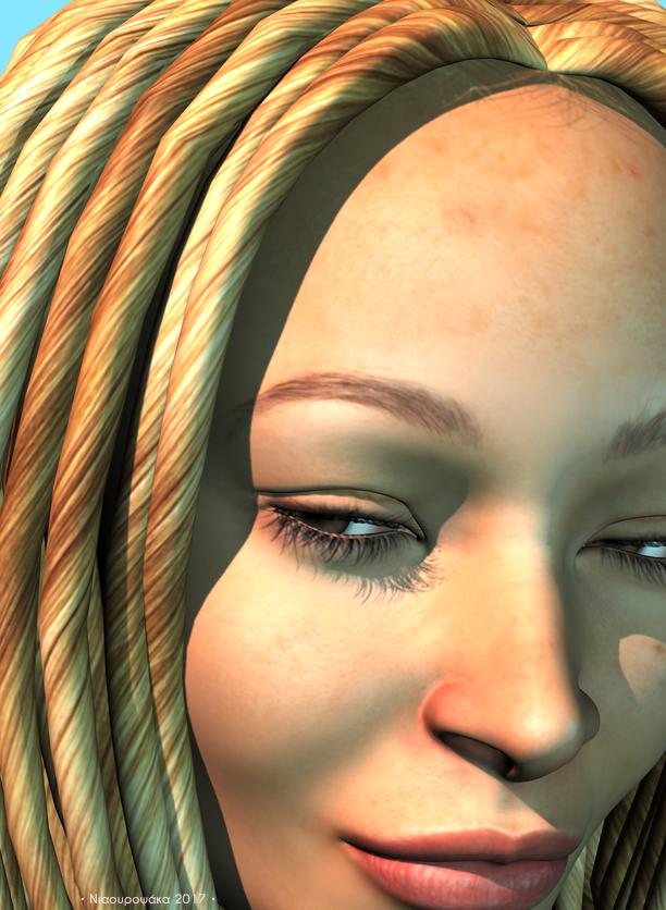 Creedence sunchild (closeup) by niauropsaka
