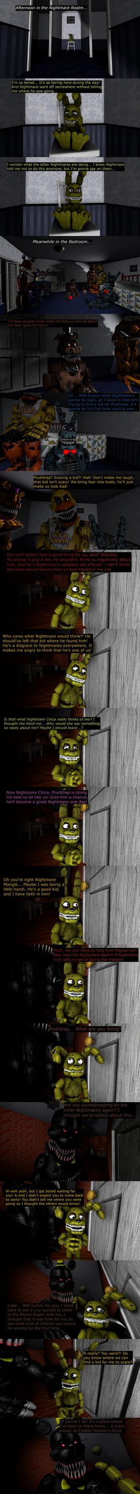 The Misfit Nightmare Pt 1 by EmeraldWerewolfHeart