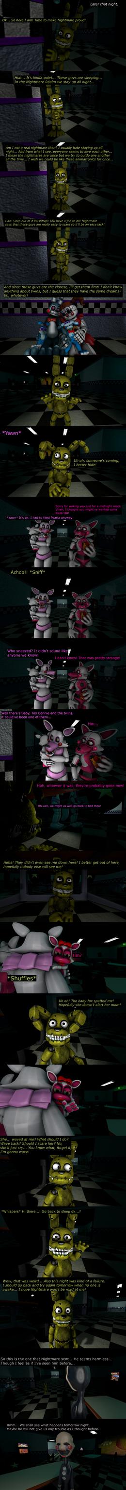 The Misfit Nightmare Pt 3 by EmeraldWerewolfHeart