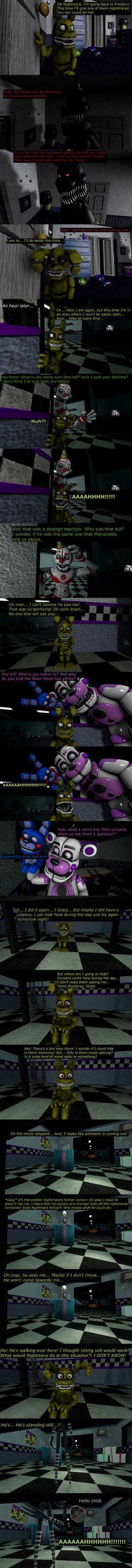 The Misfit Nightmare Pt 4 by EmeraldWerewolfHeart
