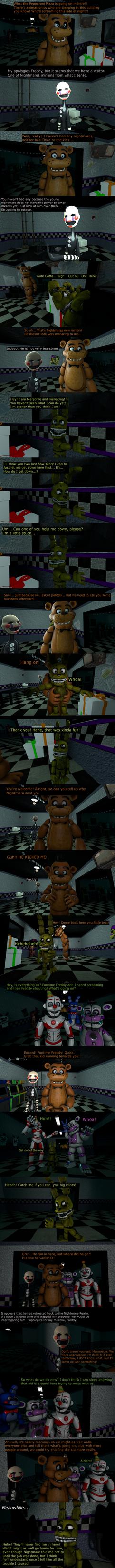 The Misfit Nightmare Pt 5 by EmeraldWerewolfHeart