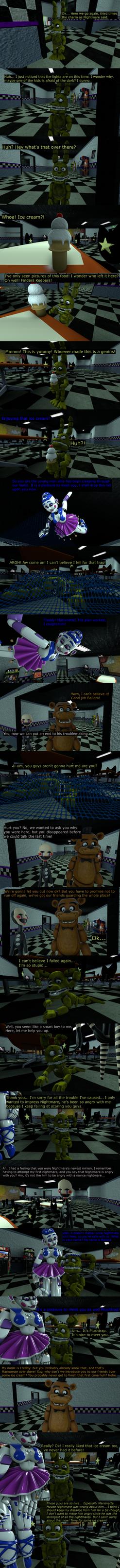 The Misfit Nightmare Pt 7 by EmeraldWerewolfHeart
