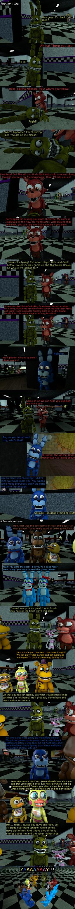 The Misfit Nightmare Pt 9 by EmeraldWerewolfHeart