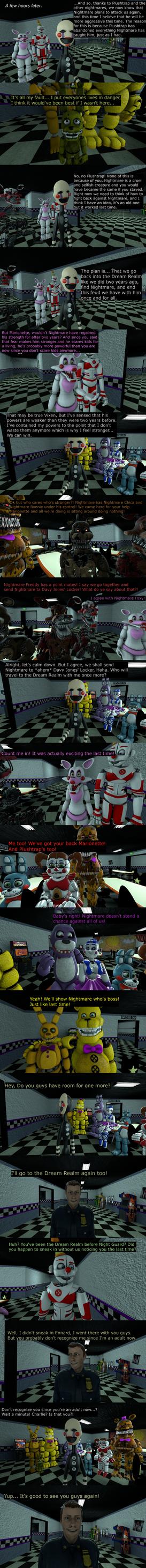 The Misfit Nightmare Pt 12 by EmeraldWerewolfHeart