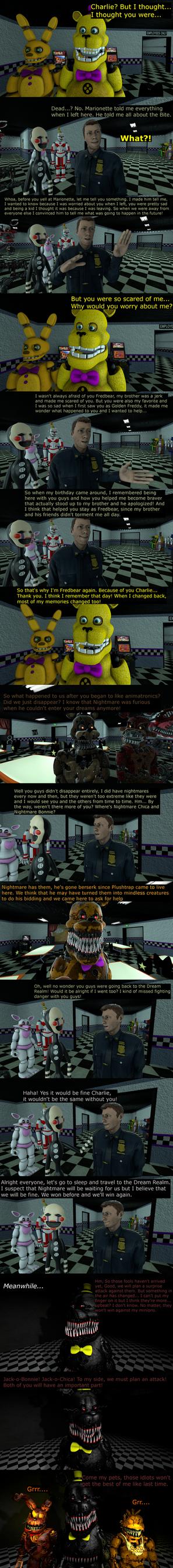 The Misfit Nightmare PT 13 by EmeraldWerewolfHeart